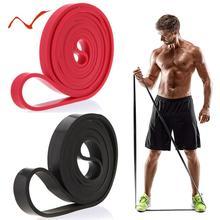 Растягивающаяся эластичная лента 208 см для упражнений, экспандер, эластичная лента для подтягивания, Вспомогательная лента для фитнеса, тренировок, пилатеса, домашних тренировок