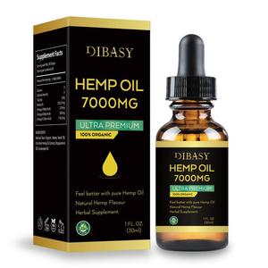 Essential Oils 7000mg Cbd Oil Organic Hemp Seed Extract Hemp Seed Oil Bio-active Drop For Pain Relief Reduce Sleep Anxiety(China)