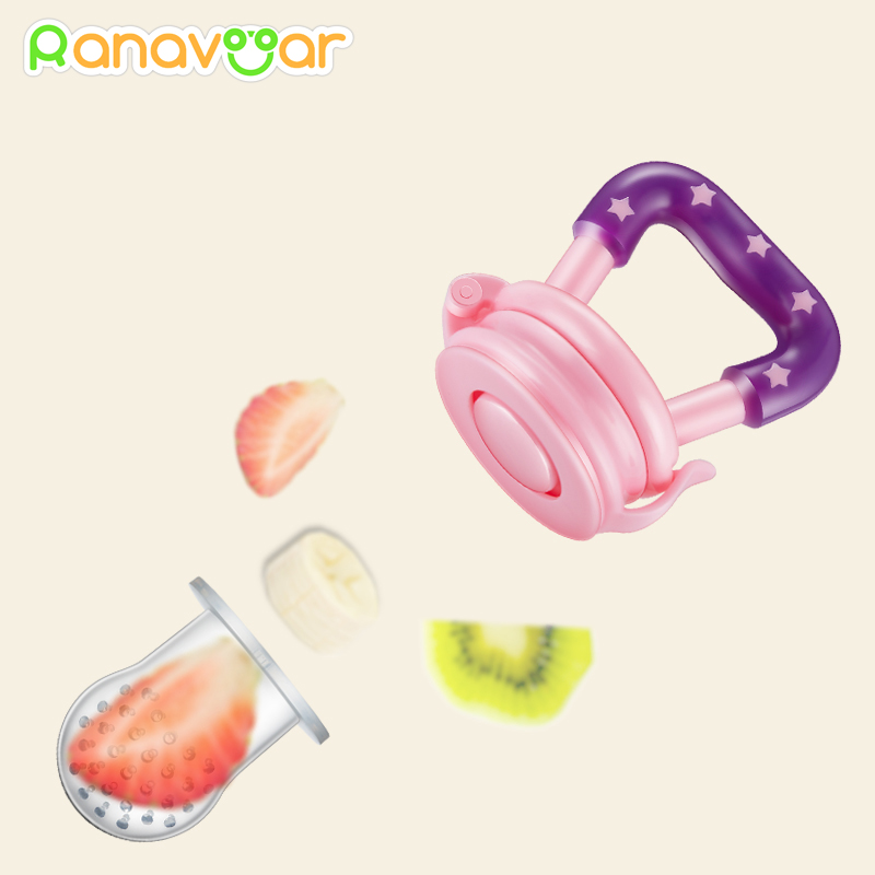 3 In 1 Baby Nipple Fresh Food Fruit Milk Feeding Bottles Nibbler Learn Feeding Drinking Water Straw Handle Teething Pacifier 2
