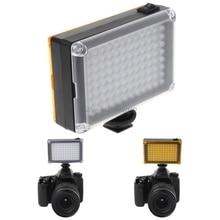 Drop Wholesale Bright Shoot DVFT 96 LED Video Light For Camera DV Camcorder   Minolta