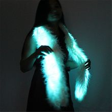 Scarves Outfit-Accessories Light-Up Festival Party Burning-Man 160cm Glow-Up Flashing