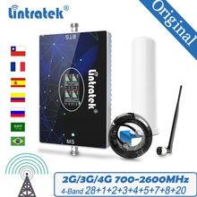 Группа 28 усилитель сигнала LTE 700 ~ 2600 AWS CDMA GSM 800 850 1900 1700 2100 Репитер сигнала мобильного телефона мобильный телефон 4G 3G 2G усилитель сигнала