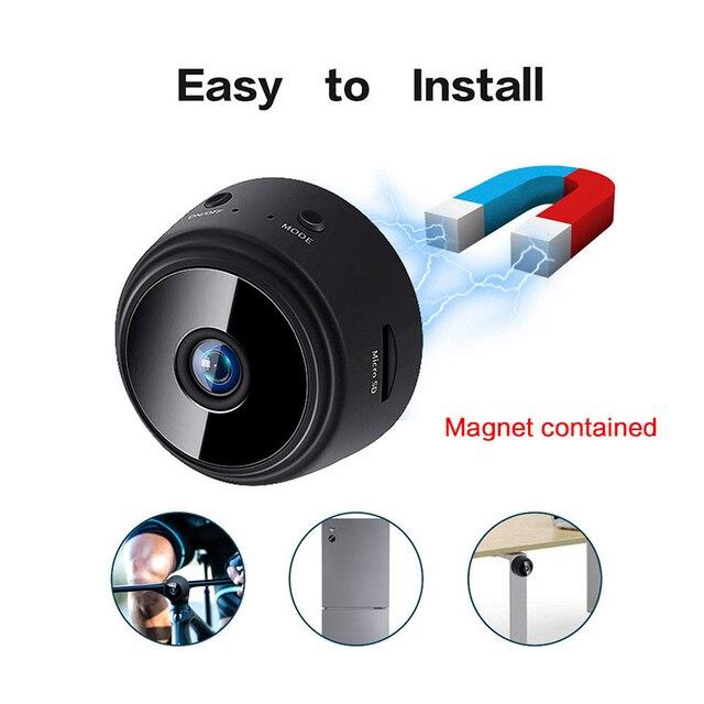 A9 Mini Camera Original 1080P IP Camera smart Home Security IR Night Magnetic Wireless Mini Camcorder  Surveillance Wifi Camera 2