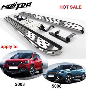Image 1 - Treeplank Side Step Side Bar Voor Peugeot 2008 & 5008, Meest Populaire Stijl In China, geleverd Door ISO9001 Fabriek, Dikker Aluminium