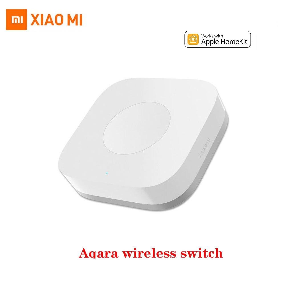Xiaomi Aqara interruptor inalámbrico ZigBee Control remoto inteligente integrado Gyro inicio botón de emergencia interruptor Wifi trabajo con Aqara Gateway GLEDOPTO ZigBee 3,0 RGB + CCT LED controlador de Gaza más DC12-24V trabajar con zigbee3.0 pasarela de smartThings eco plus control de voz