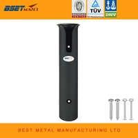 ABS Kunststoff Angelrute Pole-Halter Tragbare Leichte Angelrute Spinning Zubehör Durable Rohr Halterung Buchse Rack