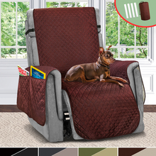 Sofa Couch Cover Reversible Recliner Chair Cover Pet Dog Kids Mat For Living Room Sofa Covers Furniture Protector