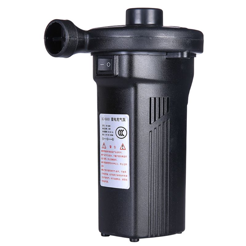 Rechargeable Electric Air Pump Inflate Deflate Nickel Cadmium Battery Inflatable Household Car Air Pump 72XC