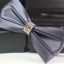 Мужской роскошный галстук-бабочка со звездами для смокинга/галстук-бабочка для сцены/галстук-бабочка для смокинга