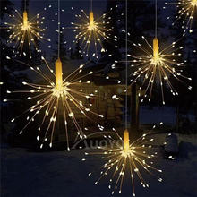 150led copper wire string lights with remote firework lamp diy