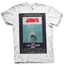 T-shirt Jaws the shark Vintage Original Poster Man Jersey Official- show original title T-Shirt Shirt Men