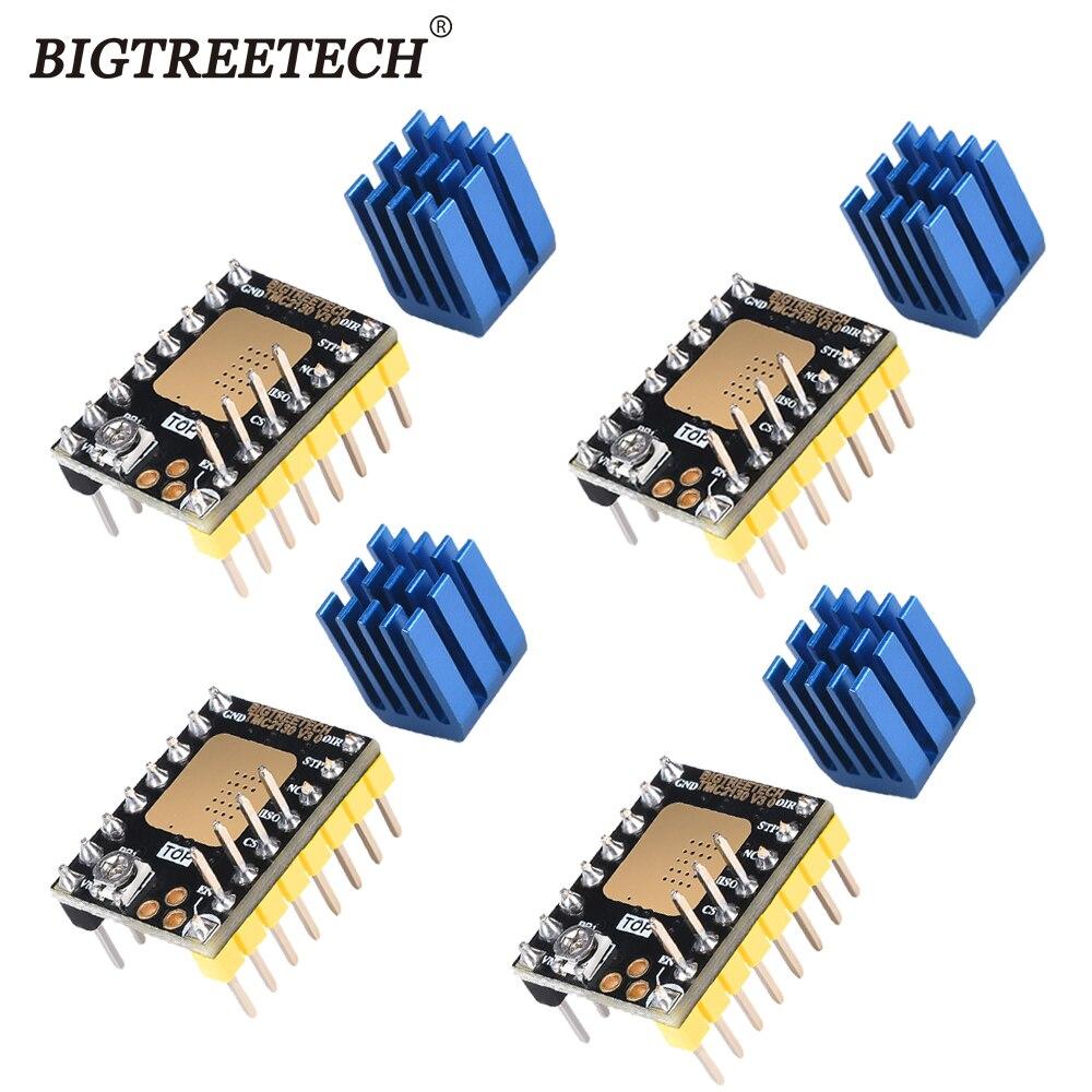 Bigtreetech tmc2130 v3.0 spi steeper silencioso motor driver reprap para skr v1.3 mks gen l placa para peças de impressora 3d