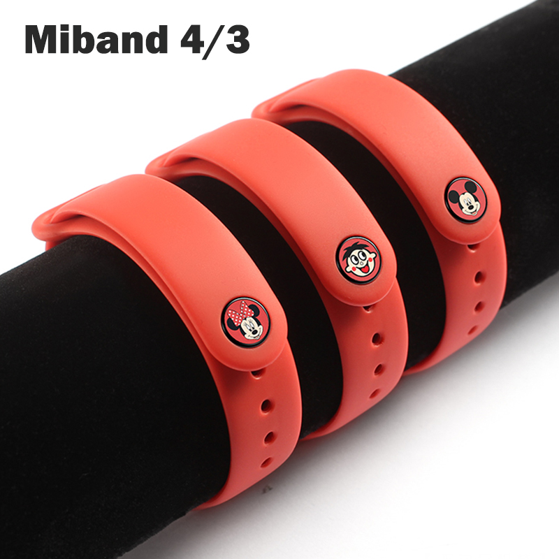 Original Strap For Xiaomi MiBand 4 Strap Replacement Bracelet For Xiaomi Miband 3 4 Silicone  Wrist Strap For Mi3 Belt