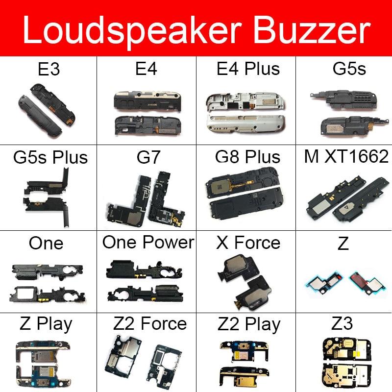 Loudspeaker Ringer For Motorola Moto M XT1662 E3 E4 G5s G7 G8 Plus One Power X Force Z Z2 Play Z3 Loud Speaker Buzzer Flex Cable