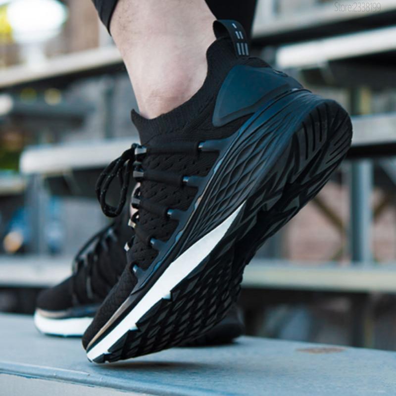 Xiao mi mi jia chaussures 3 hommes en cours d'exécution sport Sneaker Composite mi dsole PU Stable couche de soutien épaisse éponge semelle intérieure confortable - 5