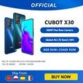 Cubot X30 смартфон 5 камер 48MP пять камер 32MP Фронтальная камера 6 + 128 ГБ/8 ГБ + 256 ГБ NFC 6,4