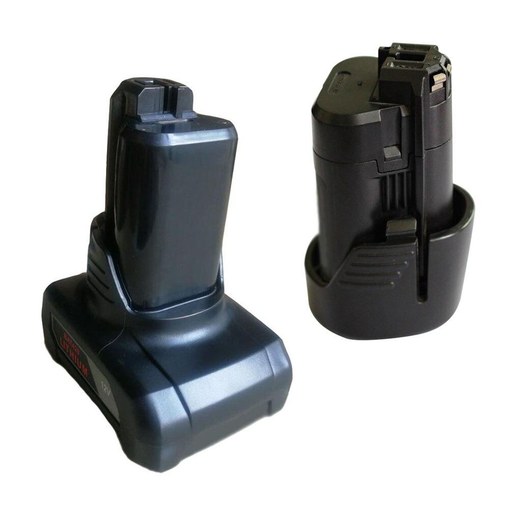 BAT411 BAT420 Li-ion Battery Plastic Case PCB Charging Protection Board Label For Bosch 10.8V 12V BAT412A BAT413A Shell Box