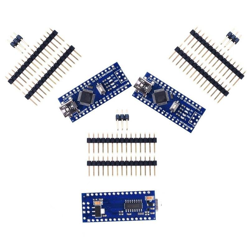 3 шт. x Nano V3 Модуль ATMega328 P CH340G 16MHz mini USB совместимый Arduino Кабели для MP3/MP4-плееров      АлиЭкспресс