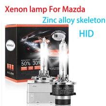2 шт. D1S D2R D2S D3S D4S D4R 4300K 5500K Автомобильные светодиодные фары HID лампа ксеноновая лампа для Mazda 3 6 CX-9 CX-5 CX-8 Mazda 5 я