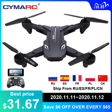 Visuo XS816 WiFi FPV RC Drone 4 K מצלמה אופטי זרימת 720 P Dual מצלמה RC Quadcopter מתקפל Selfie Dron VS XS809S XS809HW SG106