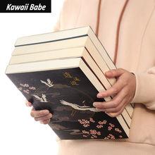 Diario del taccuino libro di schizzi addensato libro da disegno studente A4 arte antica forniture 16K cancelleria per ufficio in bianco per ufficio cheap CN (Origine)