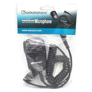 Image 5 - WOUXUN Original Microphone WOUXUN K1 Wired stereo PTT Speaker Microfono for KG UV9D plus KG UV6D KG UVD1P KG D900 Portable Radio