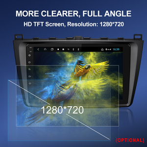 Image 2 - Iسودار H53 4G 1280*720 أندرويد 1 الدين راديو تلقائي لمازدا 6 2 3 GH 2007 2012 سيارة الوسائط المتعددة غس 8 كور رام 4G روم 64G كاميرا دفر