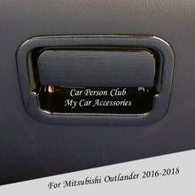 Ящик для хранения перчаток mitsubishi outlander 2015 2019 ящик