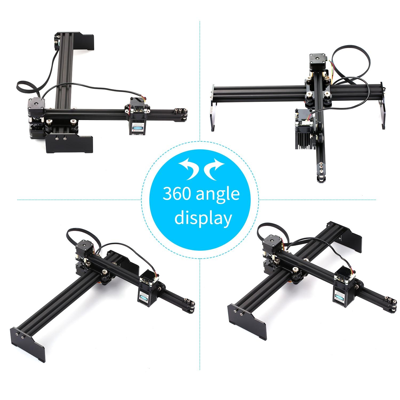20W CNC Laser Engraver Laser Engraving Machine Mini Desktop Laser Engraver Printer Portable Household DIY Laser Engraving Cutter 6
