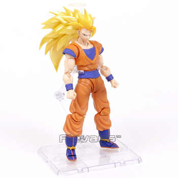 Dragon Ball Z Super Saiyan 3 Son Goku Trunks Android NO.18 Vegeta Majin Buu Broly Hercule Zamasu Jiren PVC Action Figure Toy