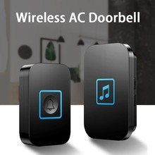 Self-Powered Waterproof Wireless DoorBell LED Light No Battery Home Cordless Doo