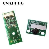 4 teile/los DR214BK IU214 IU-214 Trommel Patrone Chip für Konica Minolta Bizhub C227 C287 C367 C 227 287 367 Imaging einheit Chips