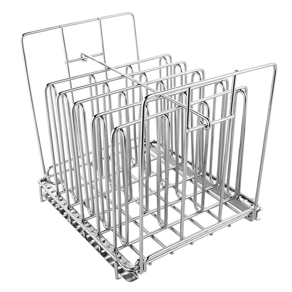 Где купить Нержавеющая сталь Sous Vide стойка для большинства 11L Sous Vide контейнеры для плиты съемные разделители сепаратор для погружных циркуляторов