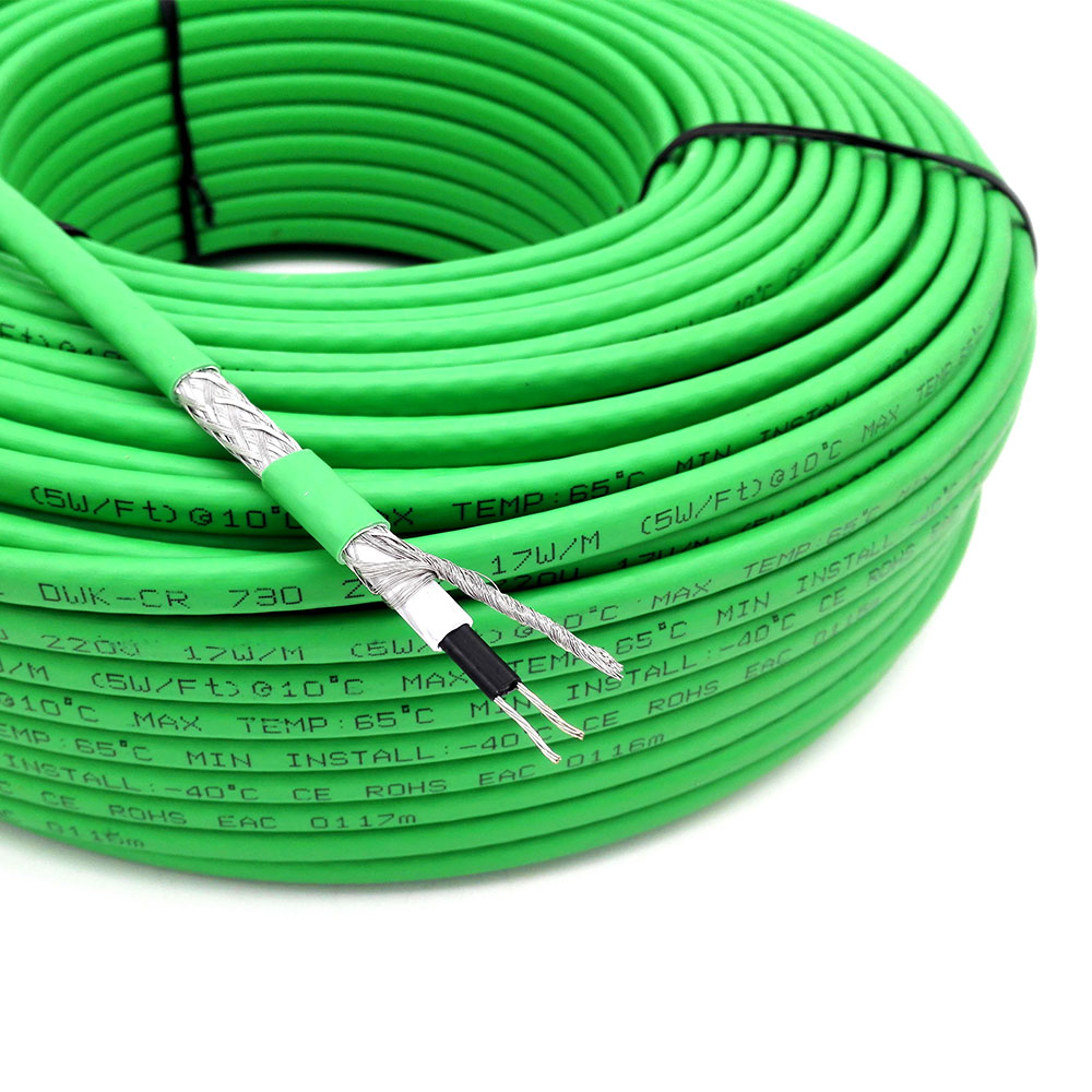 (Customized) 70 meters 17W/m self regulating heating cable-in Wires & Cables from Lights & Lighting