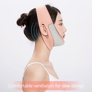 1Pc Facial Contour Lifting V-shaped Face Lift Up Band Double Chin Removal Slimming Anti Wrinkle Face Shaping Bandage Tool