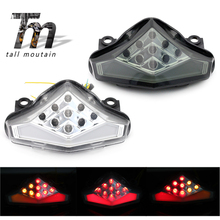 LED Tail Brake Light Turn Signal For KAWASAKI ER-6N ER-6F NINJA 650R 2009 2010 2011 Motorcycle Integrated Blinker Lamp ER6N ER6F все цены