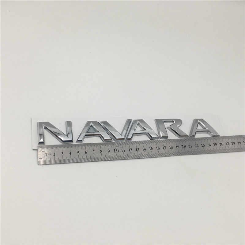 日産フロンティア Navara D40 ロゴエンブレムリアテールバック文字銘板車 2005-on