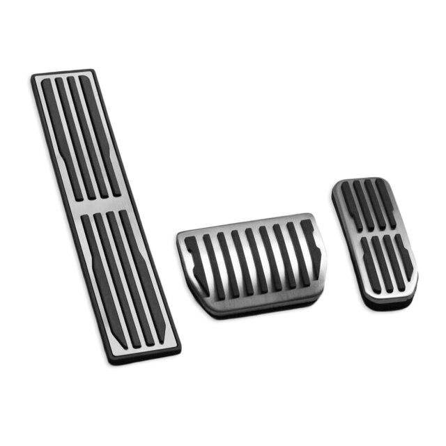 Repose-pied en acier à gaz | Pédale de voiture pour Jaguar X760 XE pour X260 XF X761 f-pace couverture intérieure, repose-pied en acier, frein à gaz, couvre pédale