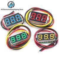 0.28 polegada dc 0 100 v 3 wire mini medidor de tensão voltímetro display led digital painel voltímetro medidor detector monitor ferramentas|Medidores de tensão| |  -