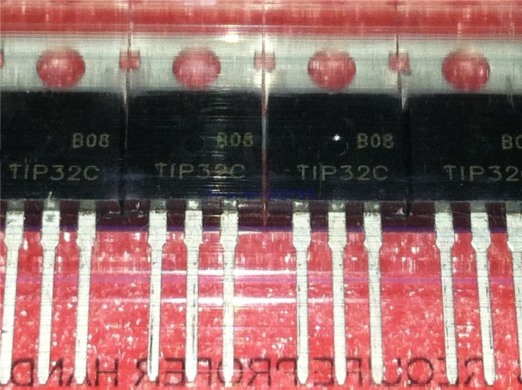 10pcs/lot TIP32 TIP32C PNP/ Transistors Control/darlington Transistor TO-220 In Stock