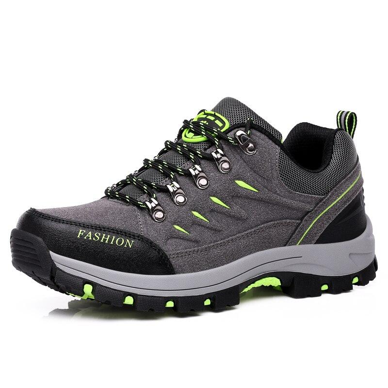 Merk 2020 Lente Zomer Unisex Wandelen Sneakers Voor Mannen Schoenen Suede Out Deur Ademend Mannelijke Schoeisel Volwassen Werk Veiligheid - 4