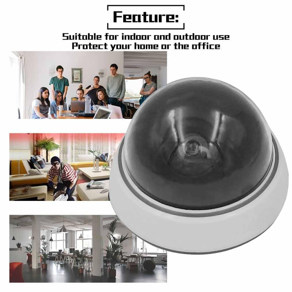 Домашняя безопасная камера наружная, внутри помещений красный светодиодный мигающий свет белый имитация камеры видеонаблюдения CCTV Камера Безопасности Cam