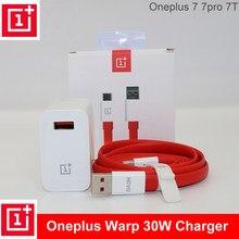 Oneplus original warp carregador cabo 30 power warp 30 w ue carregador adaptador ue eua carregador cabo de embarque rápido 30 w para oneplus 7 pro