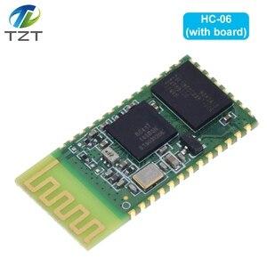 Image 5 - HC06 HC 06 sans fil série 4 broches Bluetooth RF émetteur récepteur Module RS232 TTL pour Arduino bluetooth module