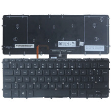 UK New Laptop keyboard for Dell Precision M3800 XPS 15 9530 keyboard with backlit