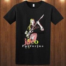 T-shirts jaco pastorio jazz basista s m l xl 2-3xl pat metheny joni mitchell