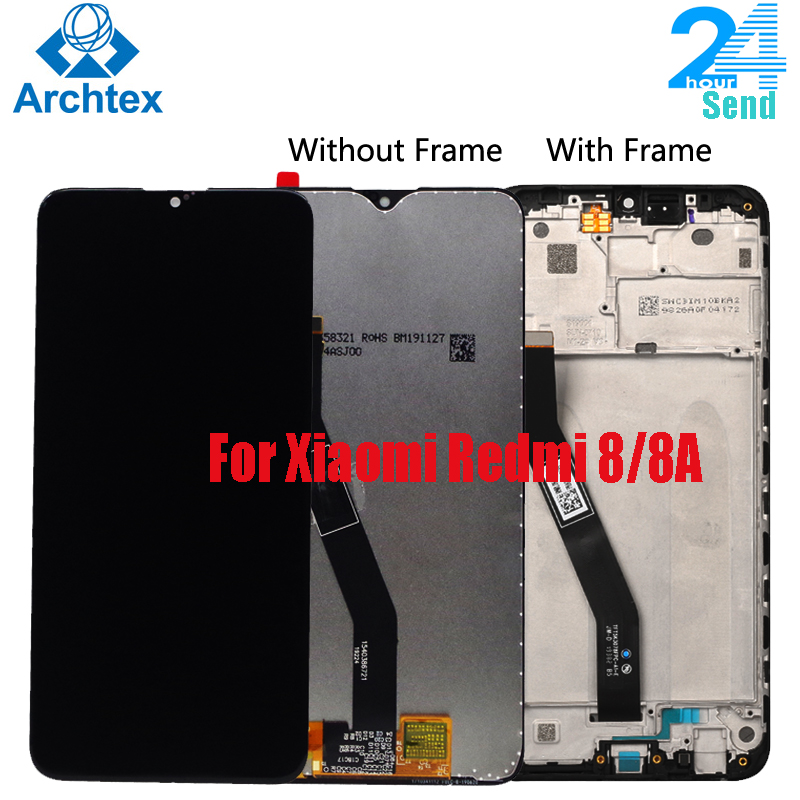 For <font><b>Xiaomi</b></font> <font><b>Redmi</b></font> <font><b>8</b></font> 8A LCD <font><b>Display</b></font> and Touch Screen With Frame Digitizer Assembly for <font><b>Xiaomi</b></font> <font><b>Redmi</b></font> 8A Screen 6.22 inch image