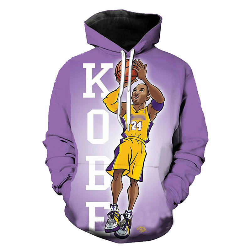 2020 New Kobe Bryant Dunk Hoodie Men And Women Fashion  Fitness Sportwear Homme Personality Funny Harajuku Pullover Sweatshirts
