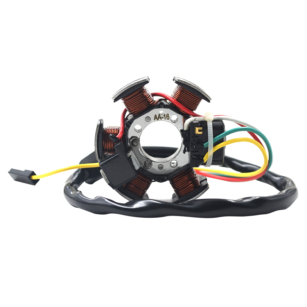 Motorcycle Generator Stator Coil Comp For Aprilia RS50 RX50 MX50 For <font><b>Yamaha</b></font> DT50 R European TZR50 AM6 For Beta RK RR <font><b>50</b></font> image