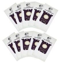 10 قطعة/الوحدة الغبار حقيبة ل إلكترولوكس E201B ل فيليبس FC8021 الغبار S حقيبة GR201 AEG أكياس s bag FC9000 FC9049 HR8500 HR8350 FC9150dust bag electroluxelectrolux bagbag electrolux